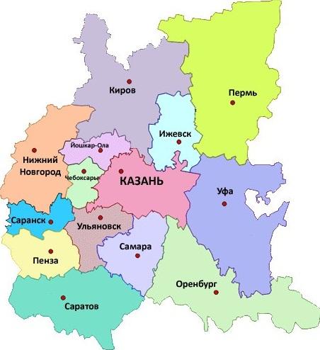 Федеральный округ: приволжский